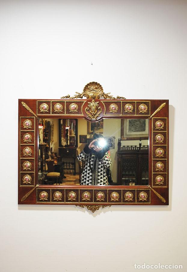 Antigüedades: CONSOLA Y ESPEJO ESTILO IMPERIO - Foto 2 - 262864270