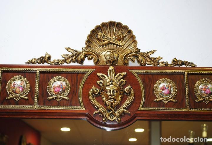 Antigüedades: CONSOLA Y ESPEJO ESTILO IMPERIO - Foto 10 - 262864270