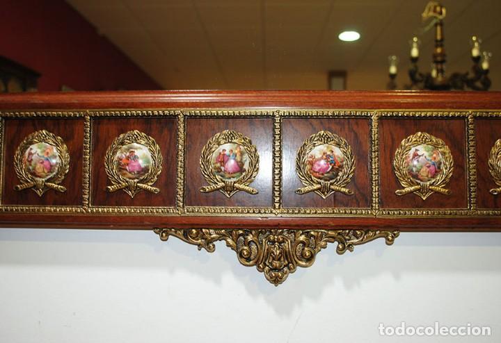 Antigüedades: CONSOLA Y ESPEJO ESTILO IMPERIO - Foto 11 - 262864270