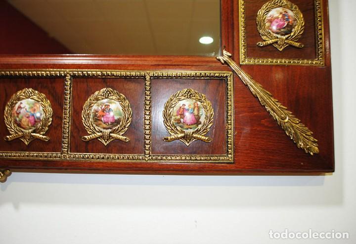 Antigüedades: CONSOLA Y ESPEJO ESTILO IMPERIO - Foto 12 - 262864270