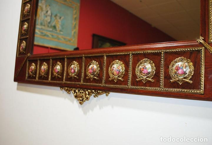 Antigüedades: CONSOLA Y ESPEJO ESTILO IMPERIO - Foto 13 - 262864270