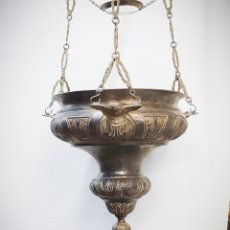 Antigüedades: ANTIGUA LÁMPARA VOTIVA DE IGLESIA. PD. Lote 262859970