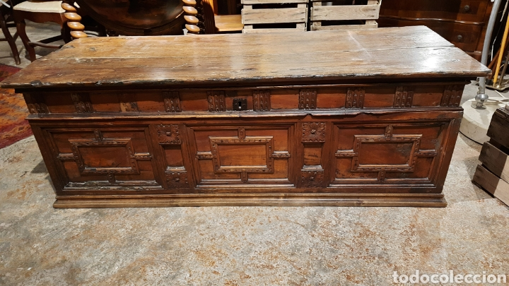 Antigüedades: Arca catalana S.XIX - Foto 3 - 262878270