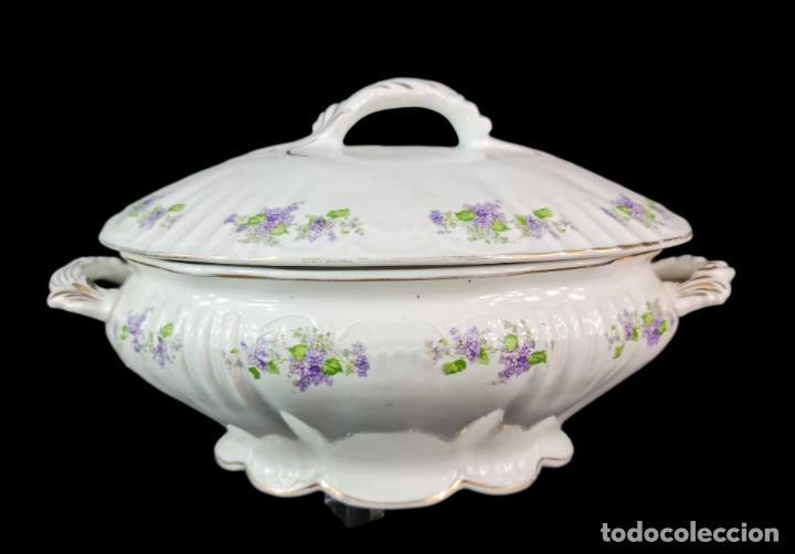 SOPERA PICKMAN S.A. PPS SXX (Antigüedades - Porcelanas y Cerámicas - La Cartuja Pickman)