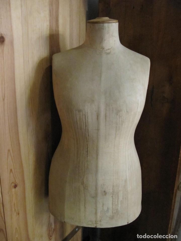 Antigüedades: ANTIGUO MANIQUI GORDO - TALLA 52 - SIEGEL PARIS S.G.D.G. - Foto 3 - 262883055