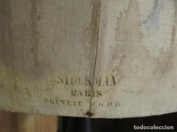 Antigüedades: ANTIGUO MANIQUI GORDO - TALLA 52 - SIEGEL PARIS S.G.D.G. - Foto 5 - 262883055