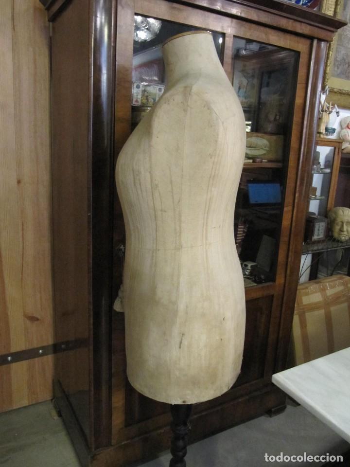 Antigüedades: ANTIGUO MANIQUI GORDO - TALLA 52 - SIEGEL PARIS S.G.D.G. - Foto 7 - 262883055