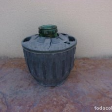 Antigüedades: ANTIGUA GARRAFA DAMAJUANA DE BOCA ANCHA 16 LITROS.. Lote 262906635