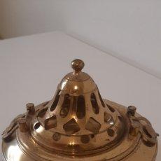 Antigüedades: PEQUEÑO BRASERO INCENSARIO COBRE . DECORACION .. Lote 262934575