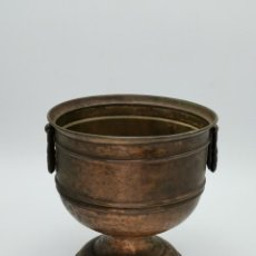 Antigüedades: PRECIOSO MACETERO ANTIGUO. 19 CM.. Lote 262988085