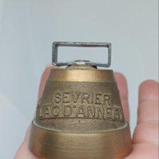 Antigüedades: PEQUEÑA CAMPANA FRANCESA SEVRIER LAC D'ANNESY. Lote 262999230
