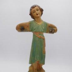 Antigüedades: ANTIGUA Y PRECIOSA FIGURA DE NIÑO JESÚS PASIONARIO. 44 CM.. Lote 263014770
