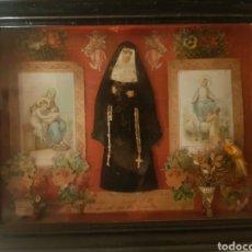 Antigüedades: ANTÍGUO RELIQUIARIO DE LA VIRGEN.. Lote 263015305