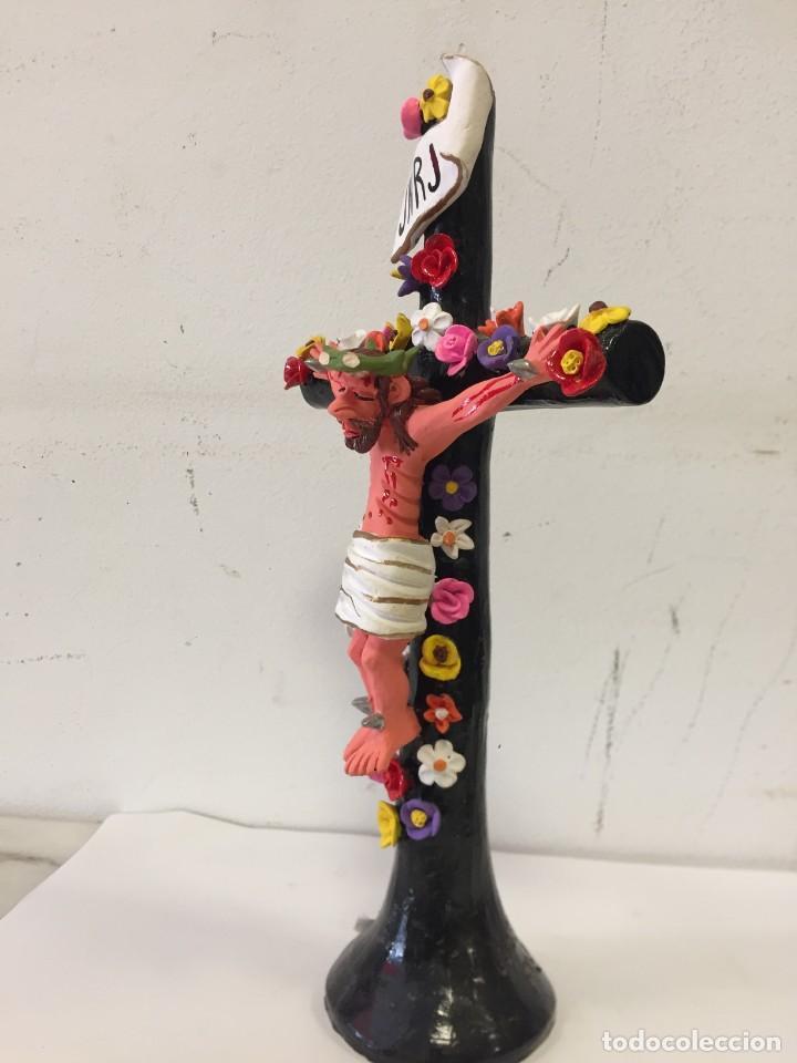 Antigüedades: Crucifixo - Foto 3 - 263028970
