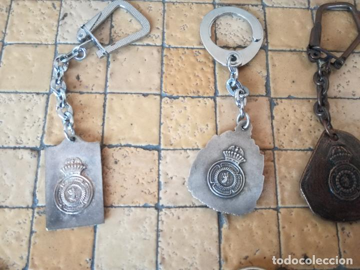 Antigüedades: LOTE 13 LLAVEROS MEDALLAS MONTEPIO SAN CRISTOBAL CHOFERES BARCELONA VIRGEN MONTSERRAT ALGUNO PLATA - Foto 14 - 263030120