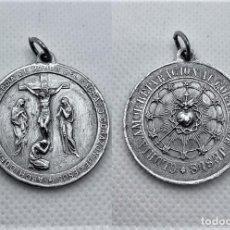 Antigüedades: 520.ANTIGUA MEDALLA DE LA ARCHICOFRADIA DE LA GUARDIA DE HONOR DEL SAGRADO CORAZON DE JESUS. Lote 263031575