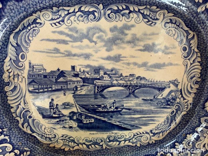 Antigüedades: Fabulosa fuente de sargadelos vistas de cuba - Foto 2 - 263055180
