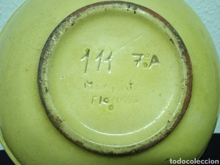 Antigüedades: Un plato hondo pequeño muy antiguo .está firmado - Foto 7 - 263076280