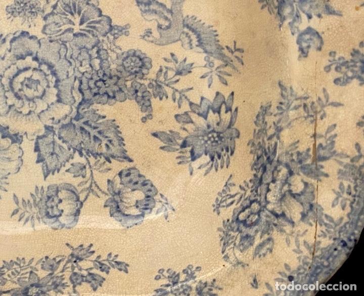 Antigüedades: Antigua fuente inglesa, sello, marcas, preciosa , muy bien conservada. - Foto 2 - 240944615
