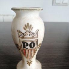 Antigüedades: FLORERO, ALABASTRO. Lote 263110930