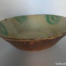 Antigüedades: ANTIGUO LEBRILLO, CERÁMICA EXTINTA DE ÚBEDA. Lote 263121970