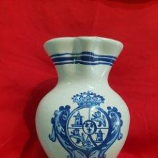 Antigüedades: MUY BONITA JARRA CERAMICA DE CERALFAR . TALAVERA . PINTADA A MANO. Lote 263135900