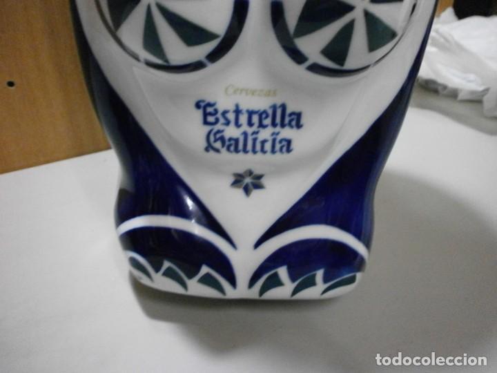 Antigüedades: sargadelos esfinge grifo de cerveza estrella galicia - Foto 7 - 263176405