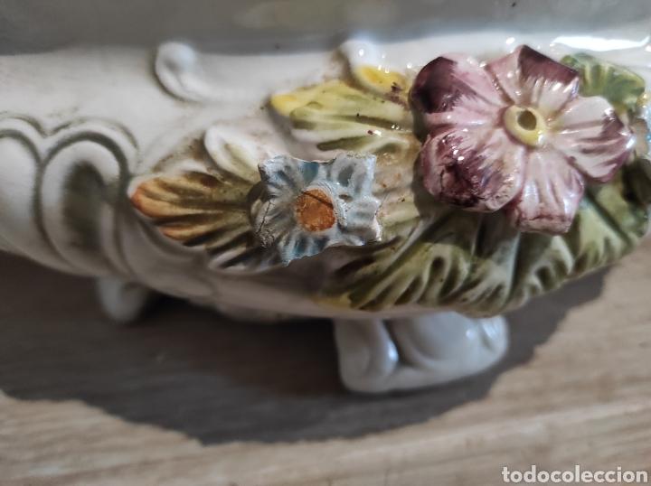 Antigüedades: Lavorazione Ceramiche Speciali , sopera de porcelana italiana LCS. Capodimonte - Foto 10 - 263195465