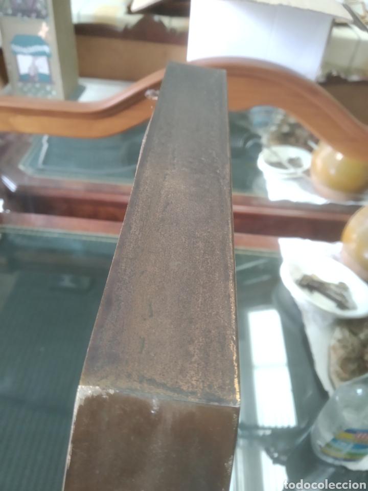 Antigüedades: ANTIGUO ESPEJO OCTOGONAL CON MARCO EN METAL. - Foto 19 - 263208300
