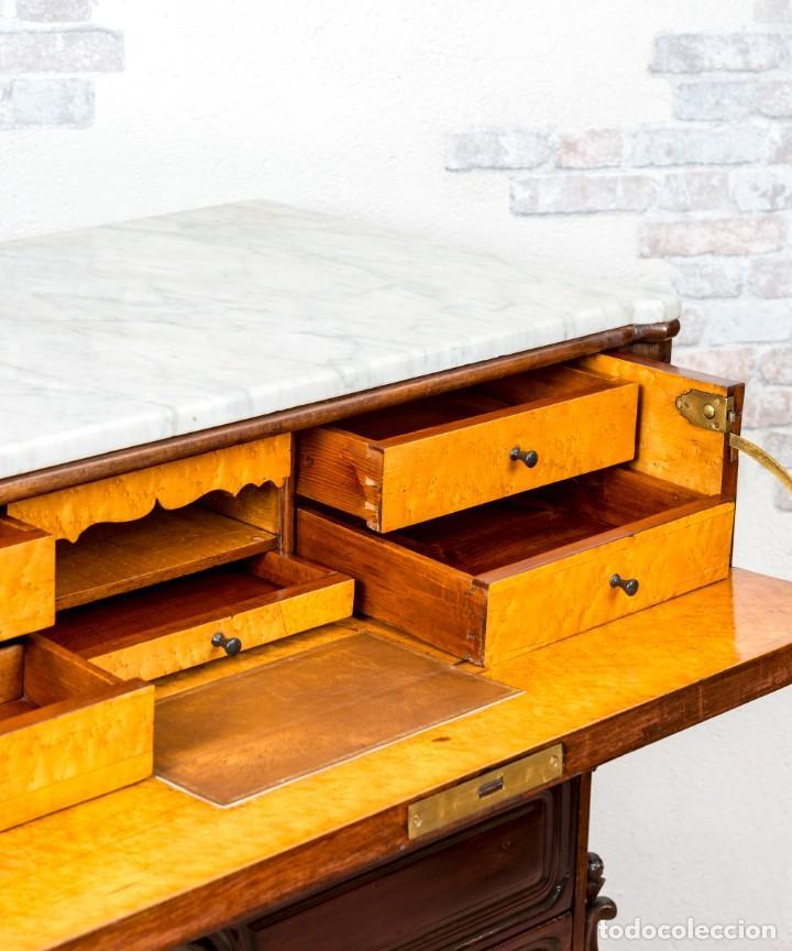 Antigüedades: Cómoda Bureau Antigua - Foto 9 - 263253140
