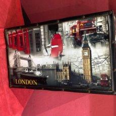 Antigüedades: MALETA VINTAGE LONDRES . VER LAS IMÁGENES. Lote 263269665