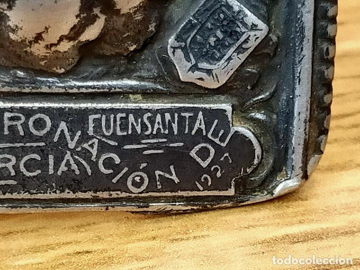 Antigüedades: RECUERDO CORONACION VIRGEN DE LA FUENSANTA MURCIA 1927 en plata - Foto 5 - 263387390