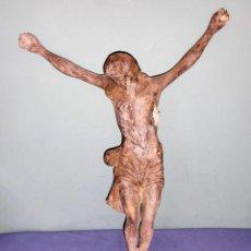 Oggetti Antichi: ANTIGUO CRISTO DE GRAN TAMAÑO DE PLOMO. Lote 263539735