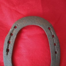Antigüedades: ANTIGUA HERRADURA DE FORJA.. Lote 263540550