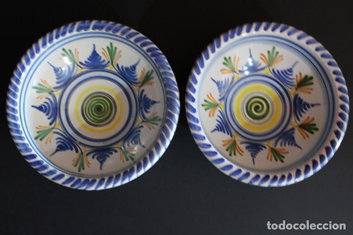 DOS CUENCOS DE LA CAL BARREIRA CERÁMICA (Antigüedades - Porcelanas y Cerámicas - San Juan de Aznalfarache)