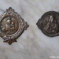 Antigüedades: OR64. SELLOS O LÁMINAS FIGURAS RELIGIOSAS. Lote 263601220