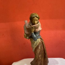 Antiquités: ESPECTACULAR FIGURA DE PORCELANA DE NAO LLADRÓ, DAISA 1982 .TAMAÑO GRANDE 47X30 CM.PESO:4.325 KG. Lote 263609665