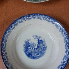 Antigüedades: PLATO HONDO PICKMAN CARTUJA. Lote 263662600