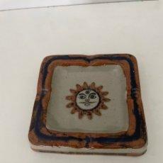 Antigüedades: CENICERO SOL. Lote 263700260