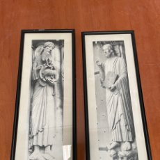 Antigüedades: PAREJA DE CUADROS RELIGIOSOS. Lote 263700550