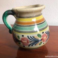 Antigüedades: JARRA EN CERÁMICA PINTADA A MANO. Lote 263711030