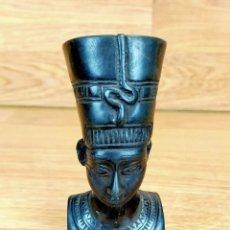 Antigüedades: ESCULTURA EGIPCIA EN METAL BRONCE O SIMILAR. Lote 263744300