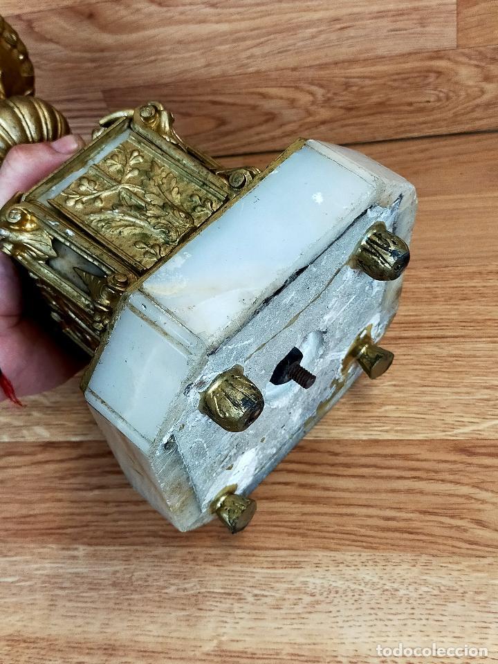 Antigüedades: CANDELABRO BRONCE - Foto 10 - 263746185