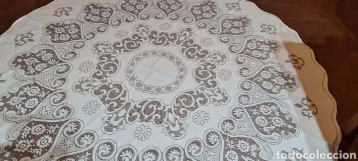 Antigüedades: Precioso Mantel de Tergal de la Marca Lepper. - Foto 3 - 263911655