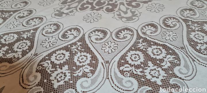 Antigüedades: Precioso Mantel de Tergal de la Marca Lepper. - Foto 6 - 263911655