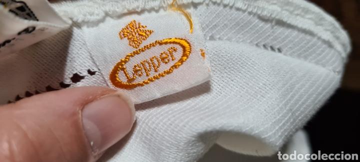 Antigüedades: Precioso Mantel de Tergal de la Marca Lepper. - Foto 11 - 263911655