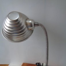 Antigüedades: ¡¡ LAMPARA: SOBREMESA, FLEXO ARTICULADA, ALUMINIO, VINTAGE. CIRCA 1950 -60. !!. Lote 263912165