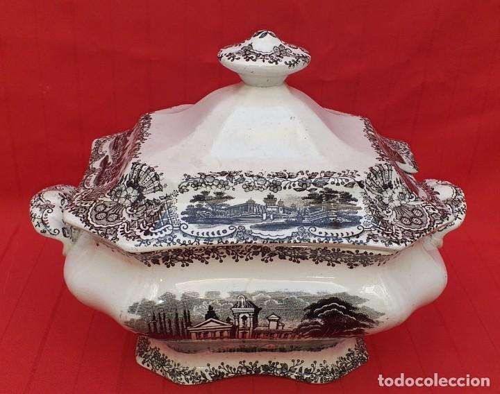 SOPERA LA CARTUJA DE SEVILLA PICKMAN (Antigüedades - Porcelanas y Cerámicas - La Cartuja Pickman)