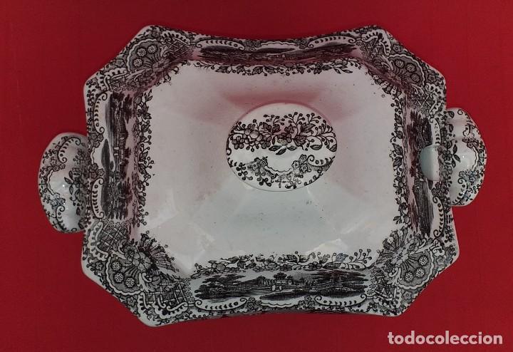 Antigüedades: SOPERA LA CARTUJA DE SEVILLA PICKMAN - Foto 2 - 263932875