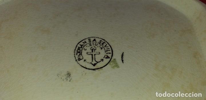 Antigüedades: SOPERA LA CARTUJA DE SEVILLA PICKMAN - Foto 8 - 263932875